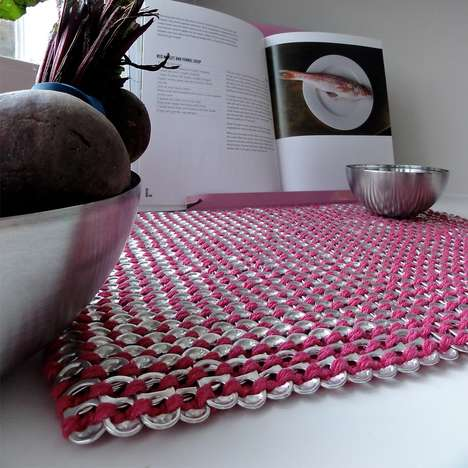 Crocheted Tin Tab Placemats