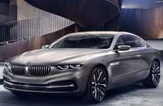 Elegant Two-Door Redesigns - The BMW Gran Lusso Coupe is Brimming with Italian Opulence