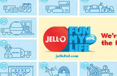 Profanity-Reversing Campaigns - The JELL-O 'Fun My Life' Campaign Turns Negativity Around