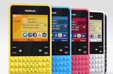 Shortcut-Keyed Colorful Smartphones