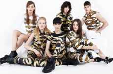 Mod Animalistic Ads - The Versace FW 13/14 Campaign Turns Models into Predators