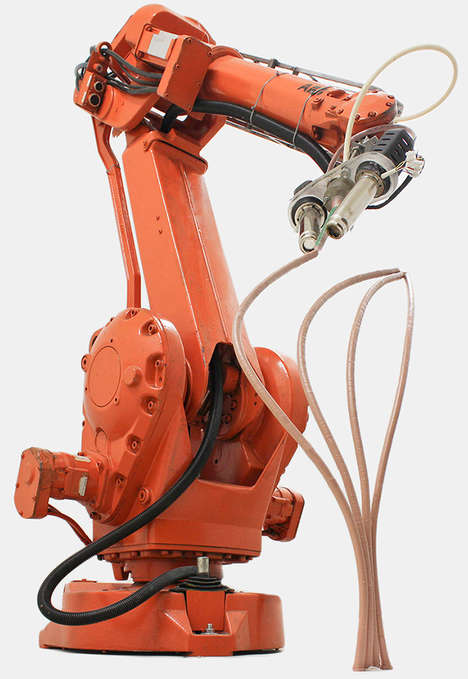 Artistic Sculpture-Building Robots