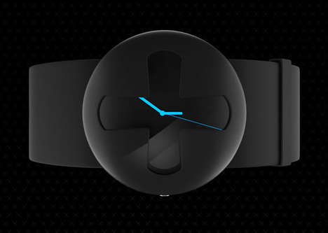 Cross-Bearing Timepieces