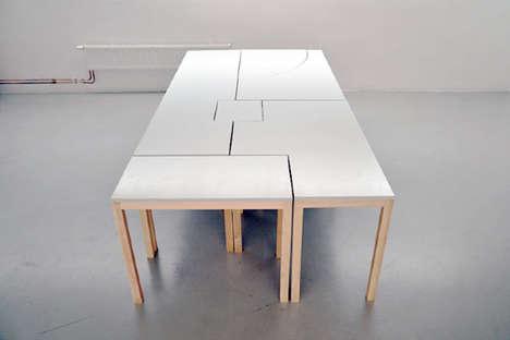 Puzzle Piece Desks