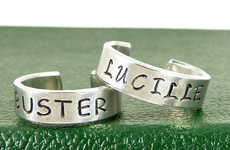 Sitcom-Inspired Friendship Rings