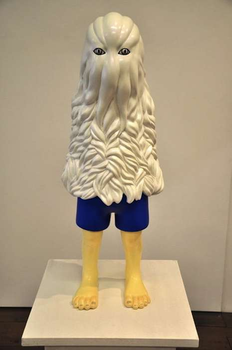 Surreal Cartoon Creature Sculptures