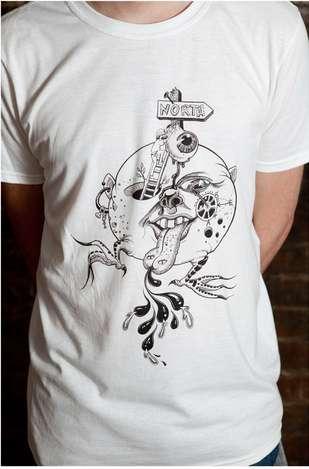 Punk Tattoo-Inspired Tees