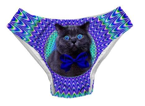 Cat Meme-Print Swimsuits