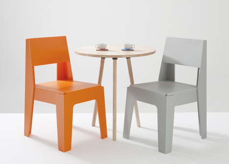 Vibrant Recycled Plastic Seating