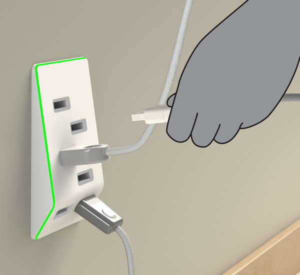 Clever Gadget Charging Outlets
