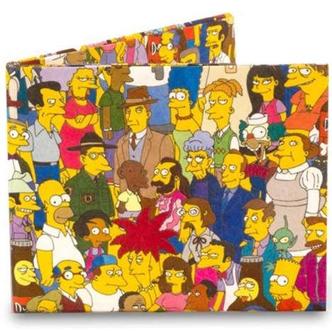Durable Cartoon Character Wallets