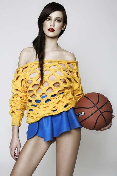 Glamorously Sporty Fashion