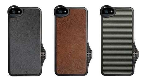 Tripod-Ready Smartphone Sheaths
