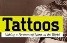 Evolutionary Tattoo Infographics - The Best Health Tattoo Infographic Tells the History of Tattoos