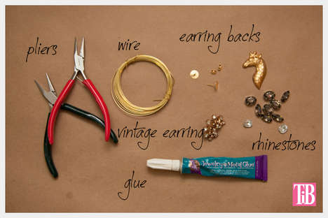 Embellish Your Ear with an Intricate Ear Cuff with This Simple DIY