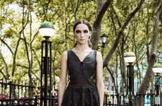 Urban Indian-Inspired Fashion - The Sheena Trivedi SS13 Collection is Shot Against NYC Backdrops