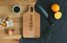 Custom Cutting Board Gifts - This Father's Day Cutting Board Has a Personal Message