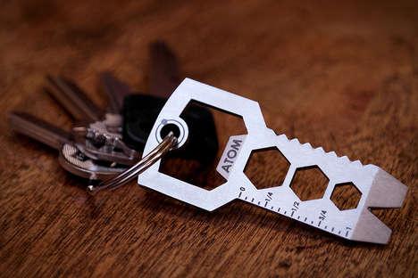 Key-Like Multipurpose Tools