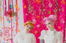 Harajuku-Themed Wedding Portraits - These Unusual Wedding Photos are Inspired by Harajuku Fashion