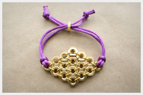 DIY Hex Nut Jewelry - Take a Trip to the Hardware Store for This DIY Bracelet Pictorial