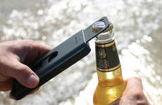 Bottle-Popping Smartphone Shields - The Opena Case for iPhone 5 Makes the Device Ready for a Party