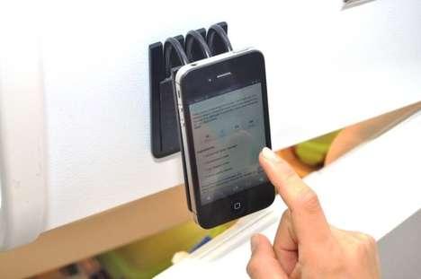 Back-Bending Smartphone Stands