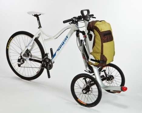 Detachable Cyclist Storage Mounts