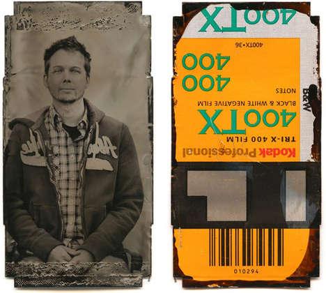 Film Canister Self-Portraits