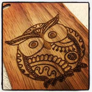 Customized Wooden Tech Cases