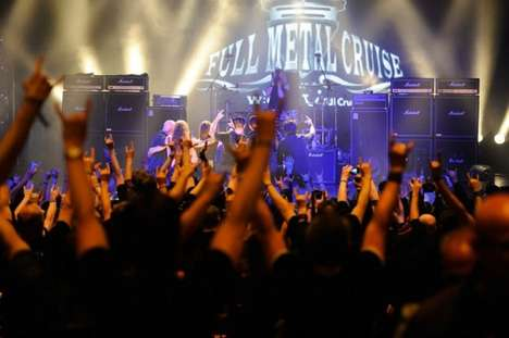 The 'Full Metal Cruise' is the Perfect Vacation for Head Bangers