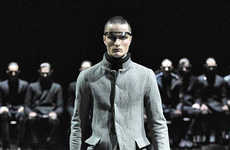Dystopian-Inspired Menswear - The 'Chairman' Collection by Yohan Serfaty is Strict and Militaristic