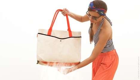 Sand-Repellant Tote Bags