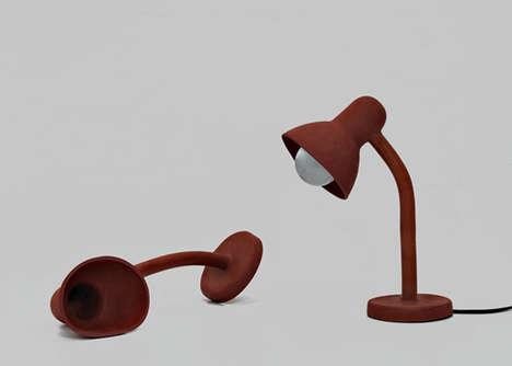 Silicone Skin Desk Lamps