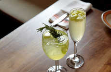 Rosemary Apple Cocktails