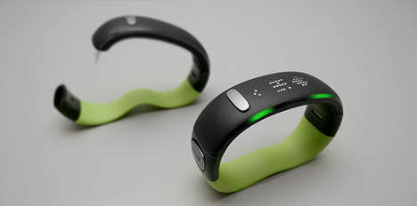 Lifestyle-Motivating Wristbands