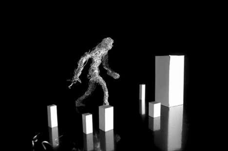Eerie Humanoid Stop-Motion Videos