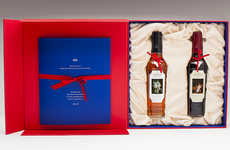 Royalty-Honoring Whiskies - This Macallan Bottle Packaging Honors the Queen's Coronation Anniversary