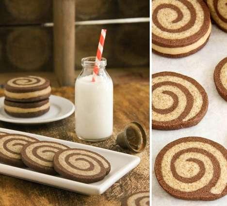 Mocha Swirl Cookies