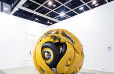 Bug-Like Car Sculptures - Ichwan Noor's 'Beetle Sphere' Looks like the Bumblebee Transformer