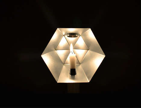 Light-Projecting Candle Holders