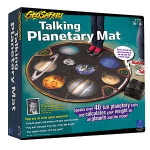 Talking Galactic Mat Toys