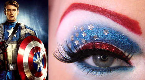 From Superheroic Eye Shadows to Neon Eye Shadow Editorials