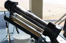 Solar-Powered Brewers - Boil Water Wherever You Go with the SunRocket Thermos