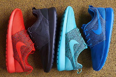 Vibrantly Exotic Sneakers