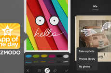 Personalized Photo Messaging Apps - The Bamboo Loop App Lets Users Customize Messages with Photos