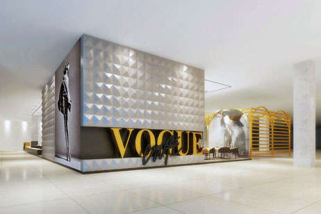 Fashion Magazine-Branded Cafes - The Vogue Cafe is a New Addition to the Dubai Mall