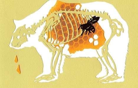 Cutout Critter X-Rays