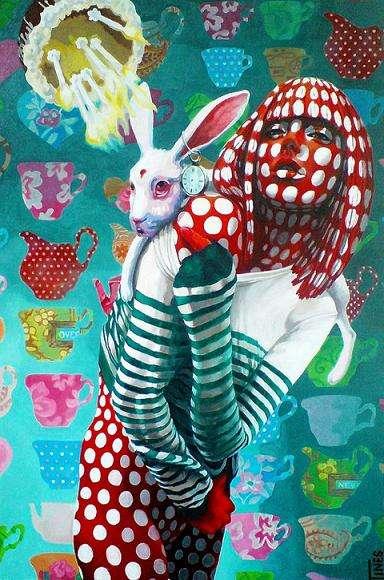 Surreal Animal-Infused Art