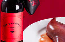 Cannibal Chianti Collections - Silence of the Lambs Wine Pairs Particularly Well with Very Rare Meat