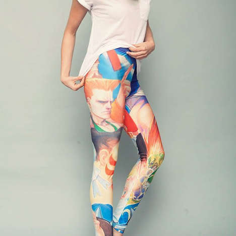 Graphic Street Fighter Leggings